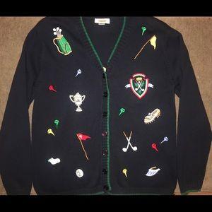 Talbots Golf Sweater